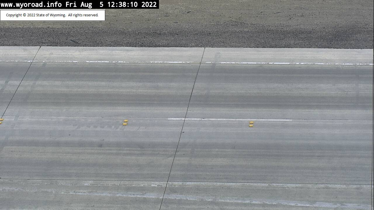 I 80 Baxter Road - Road Surface
